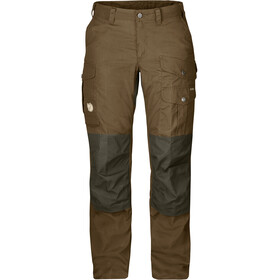 Fjällräven Barents Pro Pantalones Mujer, dark sand-dark olive